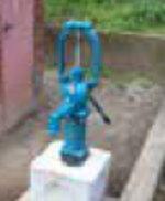 大塚公園の井戸交換